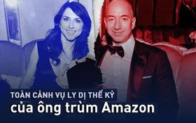 Nhìn lại mối tình 25 năm đầy ngọt ngào của ông chủ Amazon và vợ khiến nhiều người luyến tiếc