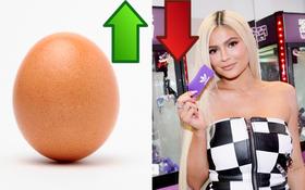 """Kylie Jenner bị một quả trứng soán ngôi """"nhiều Like nhất Instagram"""", chấp hẳn 2 triệu Like cho tha hồ đuổi"""