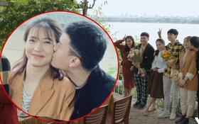 """Huỳnh Anh """"cưỡng hôn"""" Lưu Đê Ly lộ liễu giữa chốn đông người trong Chạy Trốn Thanh Xuân tập 16"""