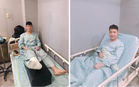 Đình Trọng, Văn Tới ổn định sau phẫu thuật, Xuân Hưng liên tục đau nhức