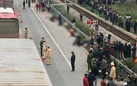 Ảnh, clip: Hiện trường vụ tai nạn kinh hoàng khiến 8 người tử vong ở Hải Dương