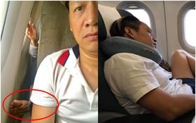 """Biến căng: Duy Mạnh đòi tìm đến nhà nữ makeup """"giải quyết"""" sau tranh cãi về bức ảnh chân bẩn trên máy bay"""