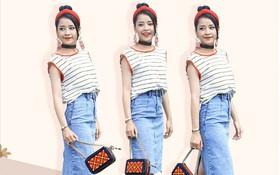 """Không chỉ mỗi Lan Ngọc, Chi Pu cũng được tạo hình kiểu cách nhưng lại... chẳng đẹp mấy trong """"She Was Pretty"""" bản Việt"""