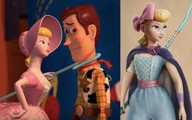 """Quên nàng búp bê bánh bèo ngày xưa đi, Bo Peep giờ đã là chị đại của """"Toy Story 4"""" rồi!"""