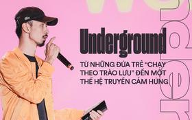Underground Việt qua bài phát biểu của Đen tại WeChoice 2018: Ai cũng đã hiểu những đứa trẻ ấy đang làm gì