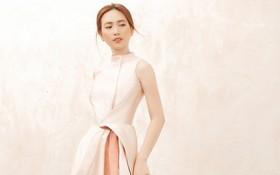 """Sau """"Chàng vợ của em"""", Phương Anh Đào đầy xinh đẹp, cuốn hút trong BST từng xuất hiện trên Vogue của PHUONG MY"""