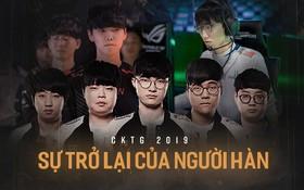 """SKT T1 dẫn đầu binh đoàn Hàn Quốc thống trị CKTG LMHT - Kẻ """"hủy diệt trò chơi"""" trở lại!"""