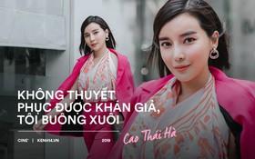 """Cao Thái Hà tiết lộ sau Tiếng Sét Trong Mưa, """"Mợ Hai"""" sẽ đi triệt phá đường dây buôn ma tuý ở dự án mới"""
