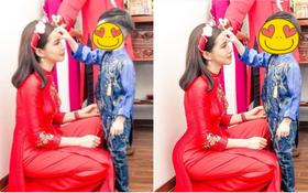 Lưu Đê Ly cất công chỉnh sửa để có body ngon nghẻ, Huy DX lỡ tay đăng nhầm cái ảnh chưa qua photoshop: Nghĩ mà tức á!