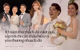 """Trấn Thành - Hari Won sẽ """"tái hôn"""" sau 10 năm, Phạm Quỳnh Anh muốn đi bước nữa sau hôn lễ thế kỷ của Đông Nhi"""