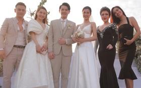 """Nhìn lại dàn khách mời """"cực đỉnh"""" trong siêu đám cưới Đông Nhi: Nhã Phương - Hari Won nền nã, hội mỹ nhân ai cũng cực xinh"""