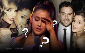 Khổ tâm như Ariana Grande khi không biết về phe Taylor Swift hay Scooter Braun: Một bên là người chị thân thiết, một bên là quản lý của mình