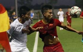 Hòa Myanmar ở trận đấu kín cuối cùng, U22 Việt Nam duy trì thành tích bất bại trước khi bước vào SEA Games 30