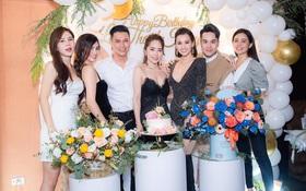 Hội bạn thân Việt Anh lâu lắm mới tụ họp dịp sinh nhật Lã Thanh Huyền, nhan sắc Quỳnh Nga và dàn mỹ nhân VTV gây chú ý