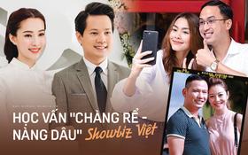 Học vấn khủng của loạt dâu rể showbiz Việt: Toàn doanh nhân thành đạt tốt nghiệp loại giỏi, thạo 4, 5 ngoại ngữ