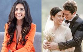 Có tâm như Mai Phương Thúy: Không thân nhưng vẫn nhiệt tình khen visual nhóc tỳ tương lai của Hoàng Oanh và chồng Tây