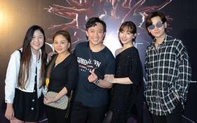 Vừa về nước sau chuyến du lịch Đài Loan, vợ chồng Trấn Thành và hội bạn thân lại tụ họp đi sự kiện chung