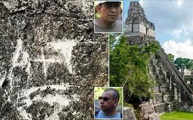 Khắc chữ lên tường ngôi đền cổ 1.300 năm của người Maya, hai du khách khiến dân mạng phẫn nộ và đối mặt mức phạt nặng