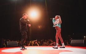 """Vỡ oà với sân khấu hội ngộ của """"huyền thoại"""" nhạc rap LK và """"công chúa của Lady Killah"""" Emily tại Beck'Stage Unexpected Rap Fest"""