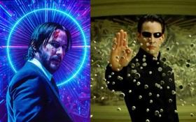 Cả Hollywood náo loạn vì Keanu Reeves phân thân mệt nghỉ trước tin John Wick 4 và The Matrix 4 ra rạp cùng ngày