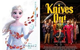 """""""Siêu bão"""" Frozen 2 cũng không """"quật"""" được phim trinh thám hài của Chris Evans ở phòng vé Bắc Mỹ"""