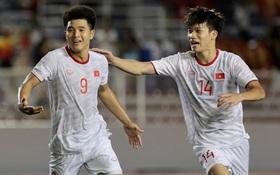 """Từ nỗi thất vọng, nay Hà Đức Chinh đang tranh đua ngôi vua phá lưới SEA Games: Tiền đạo chủ lực Indonesia chiếm ngôi trong 12 phút rồi phải san sẻ cho Chinh """"đen"""""""