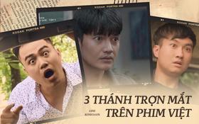 """Màn ảnh Việt có đến 3 thánh """"trợn mắt"""", diễn một nét từ phim này sang phim khác!"""