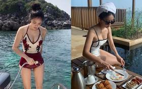 Hyomin mà chăm mặc đồ bơi, kiểu gì dân tình cũng suốt ngày được trầm trồ