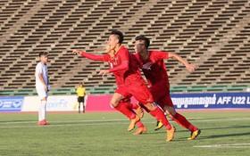 Lội ngược dòng trước Philippines chỉ trong 4 phút, tuyển Việt Nam có chiến thắng đầu tiên trong lịch sử tại giải U22 ĐNA