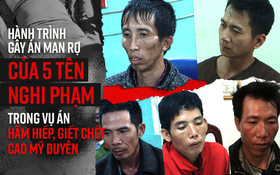 Hành trình gây án man rợ qua lời khai của 5 đối tượng nghiện ngập thay nhau hãm hiếp và sát hại nữ sinh giao gà ở Điện Biên