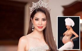 Dân mạng nháo nhào với hình ảnh Phạm Hương mang bầu, nhưng sự thật là...?