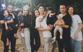 Nhà BigDaddy, Trang Lou và Justatee tụ tập, dân tình lại có thêm phiên bản 3 gia đình hot nhất MXH kiểu mới!