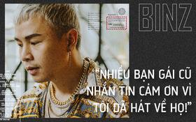 """Rapper Binz: """"Nhiều người khuyên tôi đừng nên sáng tác nhạc """"gắt"""" nữa nhưng đó mới là tôi"""""""