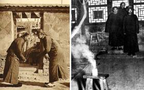 Ảnh hiếm ghi lại cảnh đón Tết của người Trung Quốc dưới thời nhà Thanh hàng trăm năm trước