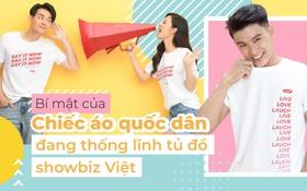 Bí mật của chiếc áo quốc dân đang thống lĩnh tủ đồ showbiz Việt