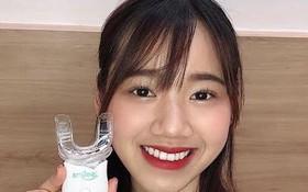 Đang từ vàng cả hàm, răng cô gái này bỗng trở nên sáng lóa sau 1 tuần dùng sản phẩm trắng răng!