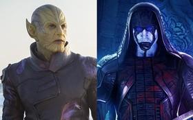 """Lục lọi hồ sơ vũ trụ của 2 chủng tộc da xanh """"thượng đẳng"""" Kree và Skrull trong """"Captain Marvel"""""""