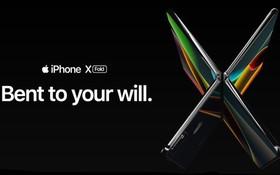 """Chiêm ngưỡng concept iPhone màn hình gập không viền """"biến hình"""" cực chất, Samsung hãy đợi đấy!"""