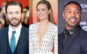 """Rần rần tin đồn """"Captain America"""" và Michael B. Jordan tranh nhau theo đuổi """"Captain Marvel"""" Brie Larson"""
