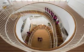 Thiết kế siêu đẹp và độc đáo, ngôi trường ở Bến Tre được tạp chí kiến trúc hàng đầu thế giới hết lời ngợi ca
