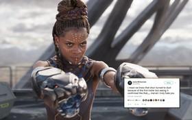 """Dân tình dậy sóng khi poster """"Endgame"""" xác nhận công chúa Wakanda Shuri sẽ chết"""