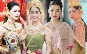 """Dàn mỹ nhân đẹp nhất Tbiz hóa nữ thần tại Songkran 2019: Nữ chính """"Friend zone"""" đỉnh cao nhưng có bằng 5 sao nữ này?"""