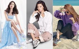 Thương hiệu giày Hàn được Song Hye Kyo lăng xê không ngớt, hết chụp lookbook lại diện đi đóng phim, dự sự kiện có gì đặc biệt?