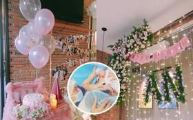 Tú Vi - Văn Anh tổ chức tiệc thôi nôi cho con gái đầu lòng, hé lộ khoảnh khắc xúc động lúc sinh con