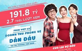 """""""Cua Lại Vợ Bầu"""" chốt sổ doanh thu khủng, tuyên bố vẫn là số 1 Việt Nam chứ không phải Hai Phượng!"""