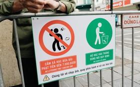 Người Hà Nội ủng hộ việc lắp camera ghi hình, phạt 7 triệu đồng hành vi xả rác ở phố đi bộ