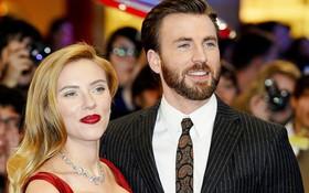 """Được """"đẩy thuyền"""" mạnh nhất Marvel nhưng đây mới là quan hệ thật của """"Captain"""" Chris Evans và """"Black Widow"""""""