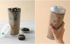 Phát minh ly uống trà sữa trân châu không cần ống hút hứa hẹn sẽ