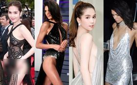 Dậy sóng vì loạt ảnh thảm đỏ giống nhau bất ngờ của Ngọc Trinh và Kendall Jenner: Lấy cảm hứng hay học tập trắng trợn?