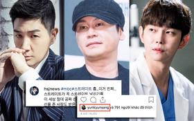 """Nam diễn viên Hàn công khai đăng ảnh tận mặt chỉ trích chủ tịch YG vì bê bối, tài tử """"Pinocchio"""" có thái độ bất ngờ"""